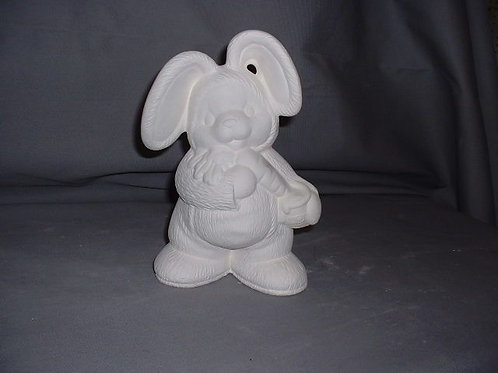 Bear in bunny suit