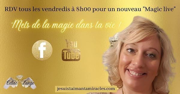 live EFT sur Facebook avec Céline Lange