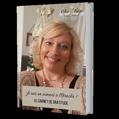 carnet de gratitude EFT Céline Lange