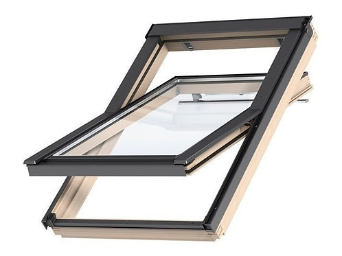Мансардне вікно VELUX OPTIMA Стандарт GZR 3050В FR06 дерев'яне 66х118 cм»