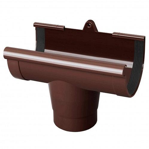 Воронка ринви Rainway 90/75 мм коричнева