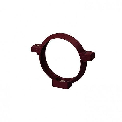 Кронштейн труби Rainway 75 мм червоний
