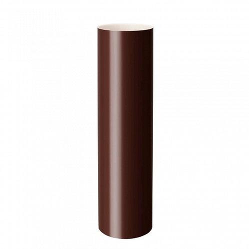 Труба водостічна Rainway 3 м 75 мм коричнева