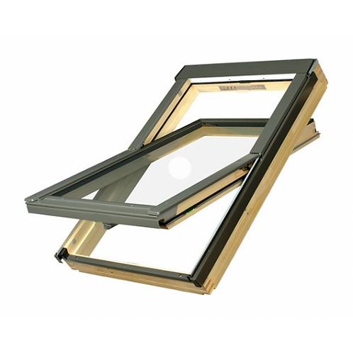 Мансардне вікно FAKRO FTP-V U3 обертальне 134x98 см