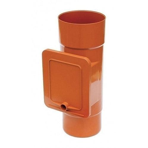 Люк для чистки Bryza  110,4х104,5 мм цегляний