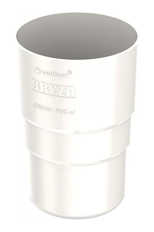 Муфта труби Bryza 75 63,3х117х57,5 мм білий