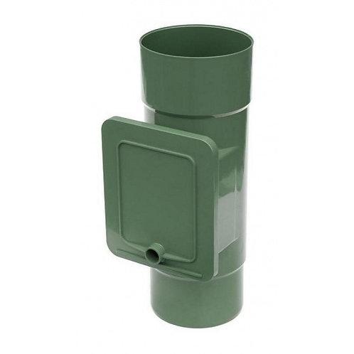 Люк для чистки Bryza  110,4х104,5 мм зелений