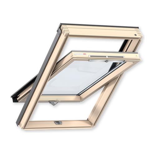 Мансардне вікно VELUX OPTIMA Стандарт GZR 3050 CR02 дерев'яне 55х78cм»