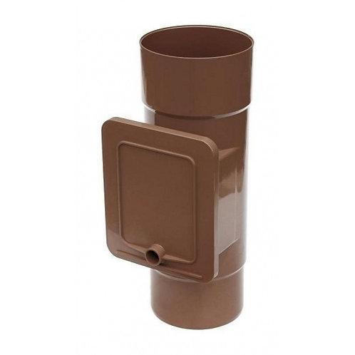 Люк для чистки Bryza  110,4х104,5 мм коричневий