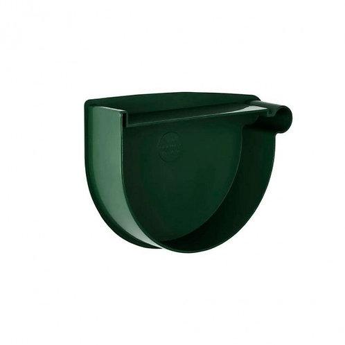 Заглушка воронки права Rainway 90 мм зелена