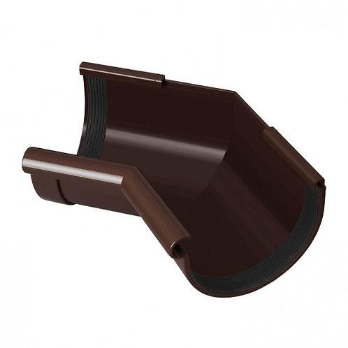 Кут ринви внутрішній Rainway 135 градусів 90 мм коричневий