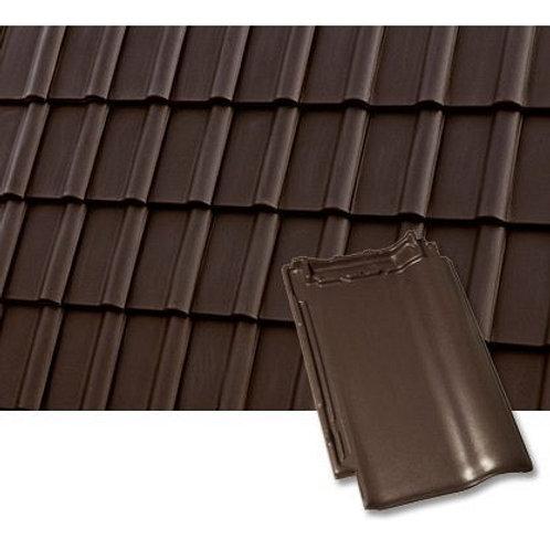 Черепиця керамічна Roben Piemont 472*290 мм коричнева