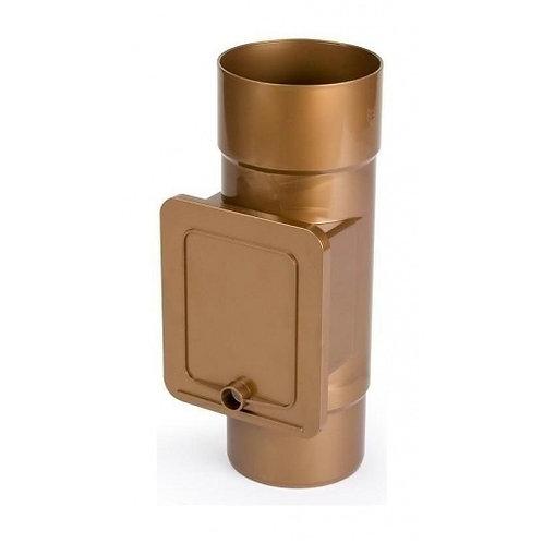 Люк для чистки Bryza 110,4х104,5 мм мідний
