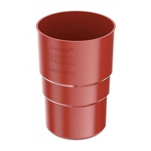 Муфта труби Bryza 100 90,2х145х84,5 мм червоний