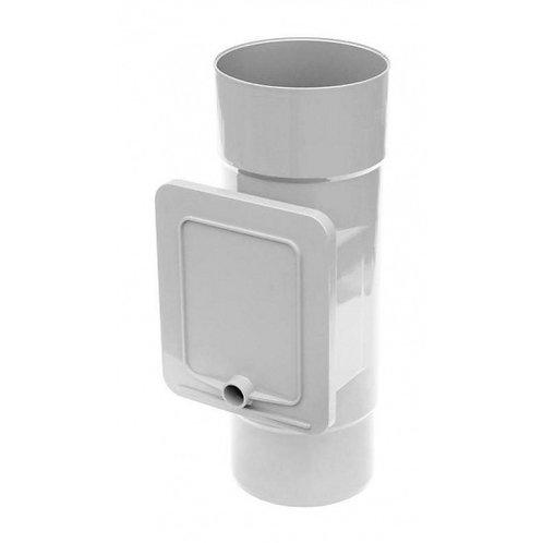 Люк для чистки Bryza  110,4х104,5 мм білий