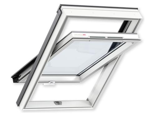 Мансардне вікно VELUX OPTIMA Стандарт GZR 3050 CR04 дерев'яне 55х98cм