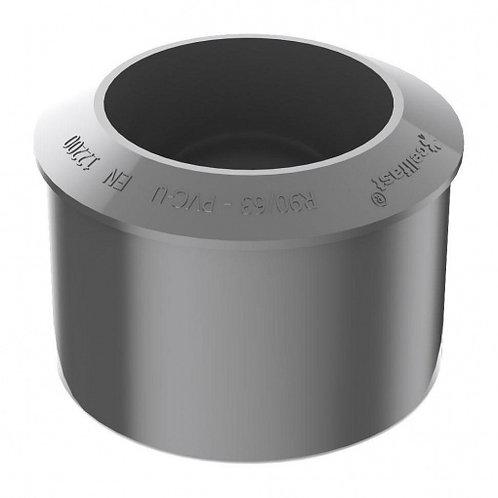 Перехідник труби Bryza  90,2х110 мм графіт