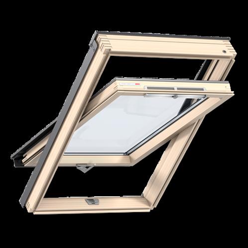 Мансардне вікно VELUX OPTIMA Стандарт GZR 3050 SR06 дерев'яне 114х118 cм