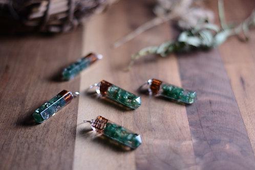 Jade Orgonite Pendant