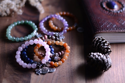 Crystal Gemstone Bracelet