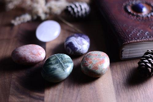 Palm Tumbled Stones
