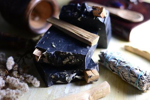 Charcoal Smudge Soap - 6oz.