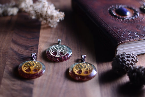 Tree Of Life Orgonite Pendant