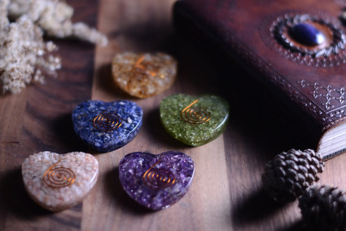 Orgonite Hearts