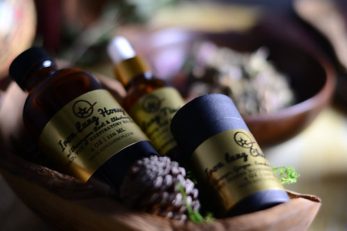 Iron Lung Detox Kit - Tincture/Tea/Medicinal Honey/Chest Rub