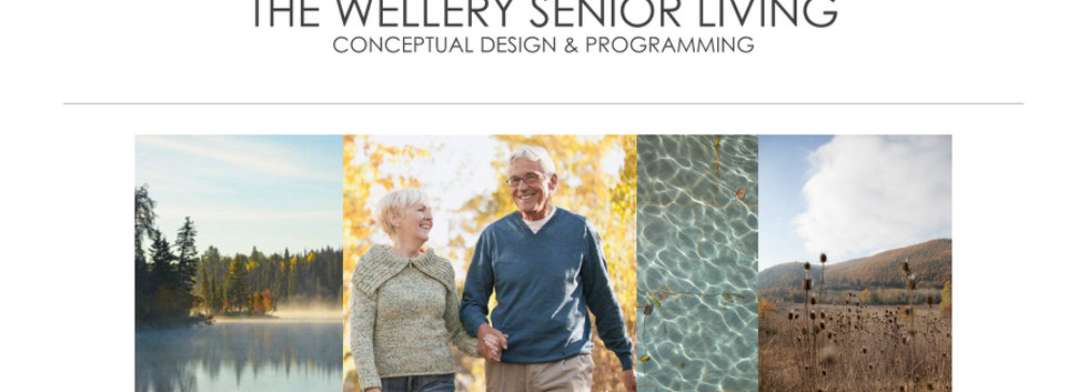 The Wellery Senior Living Conceptual Design Package