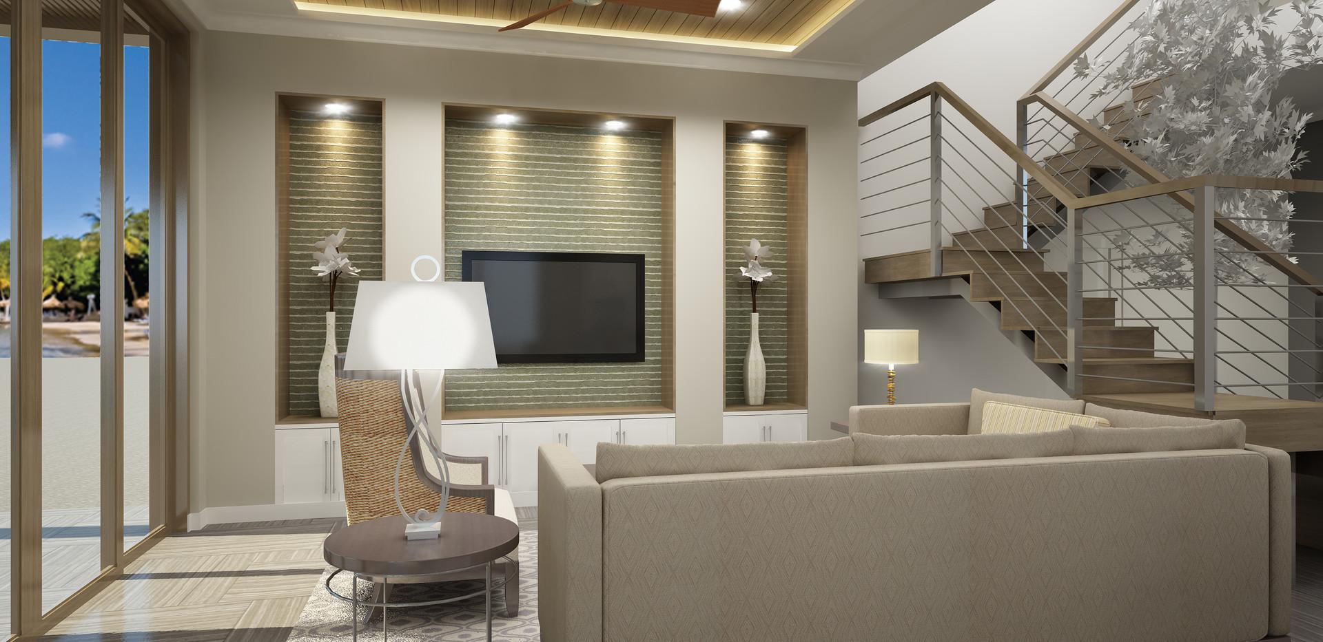 New Villas Living Room
