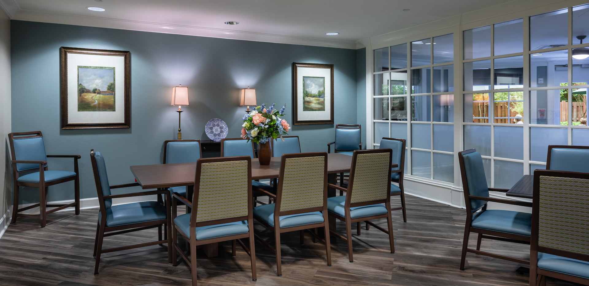 Memory Care Private Dining Room