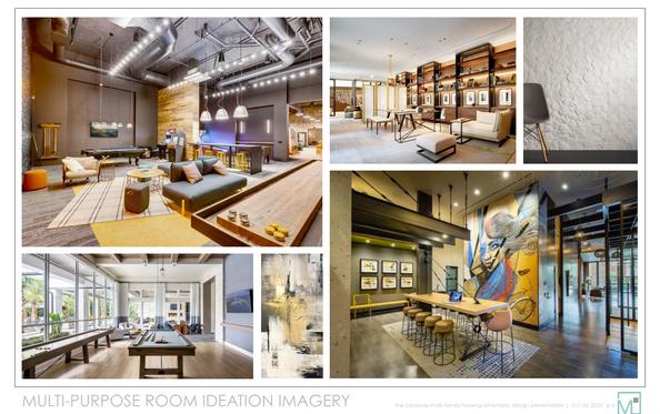 Multi-Purpose Room Ideation Imagery