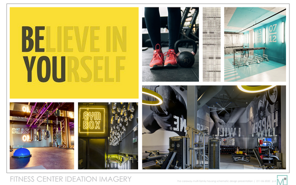 Fitness Center Ideation Imagery