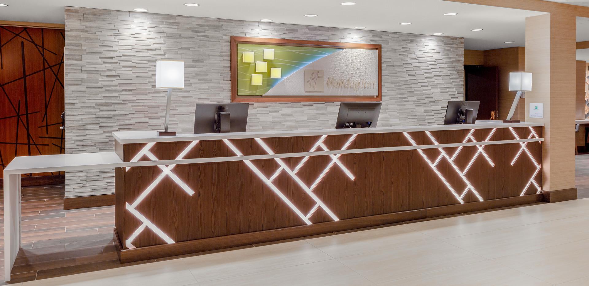 Holiday Inn La Mirada Reception Desk