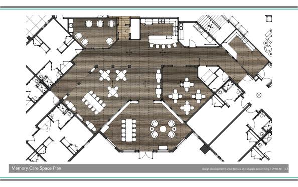 Memory Care Floor Plan