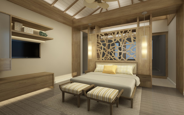New Villas Master Bedroom