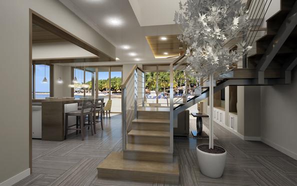 New Villas Entry Foyer
