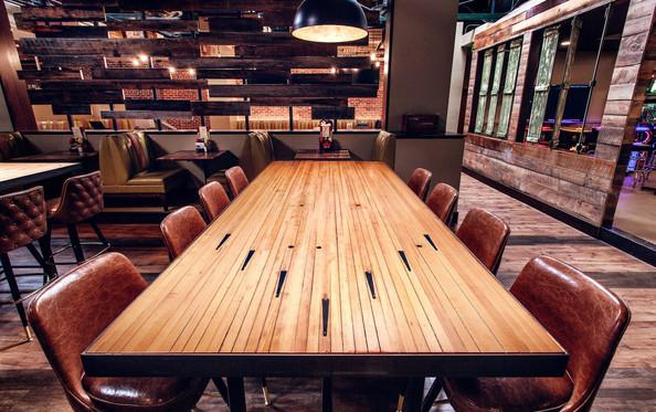 Custom Bowling Alley Table