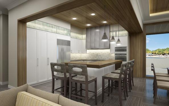 New Villas Kitchen