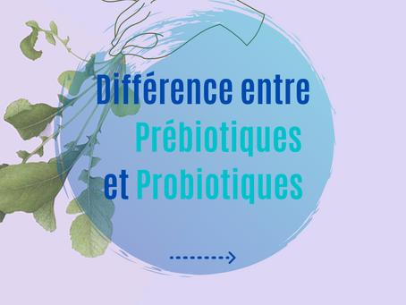 Différence entre Prébiotique et Probiotiques