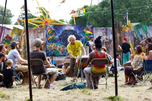Once again, Damon Wilding, Drum Leader will be waking up the festival goers every morning with the gentle sound of sweet African drums. Drumming workshops will start late morning every day.