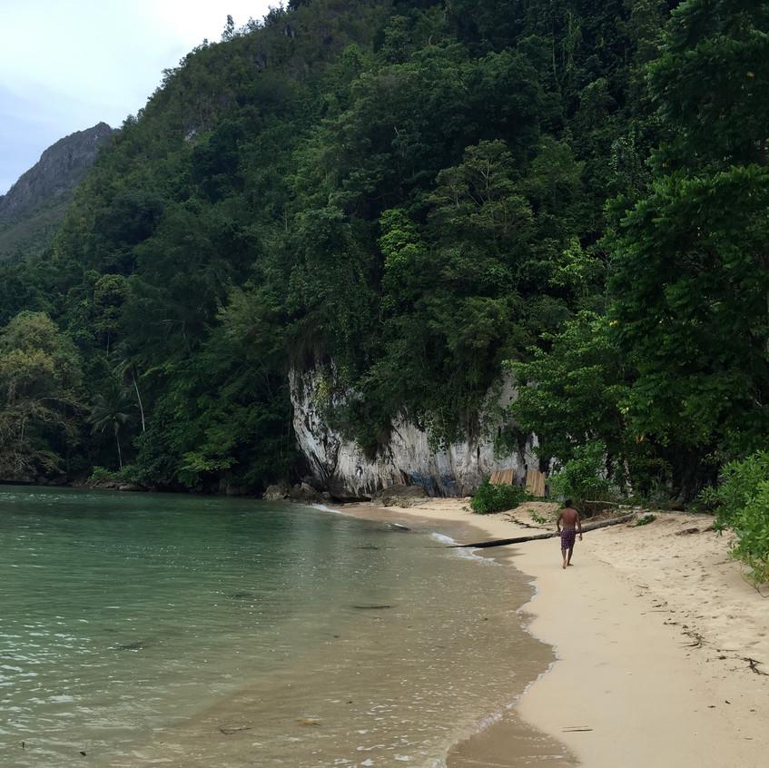 beach where there's Air Mata Belanda
