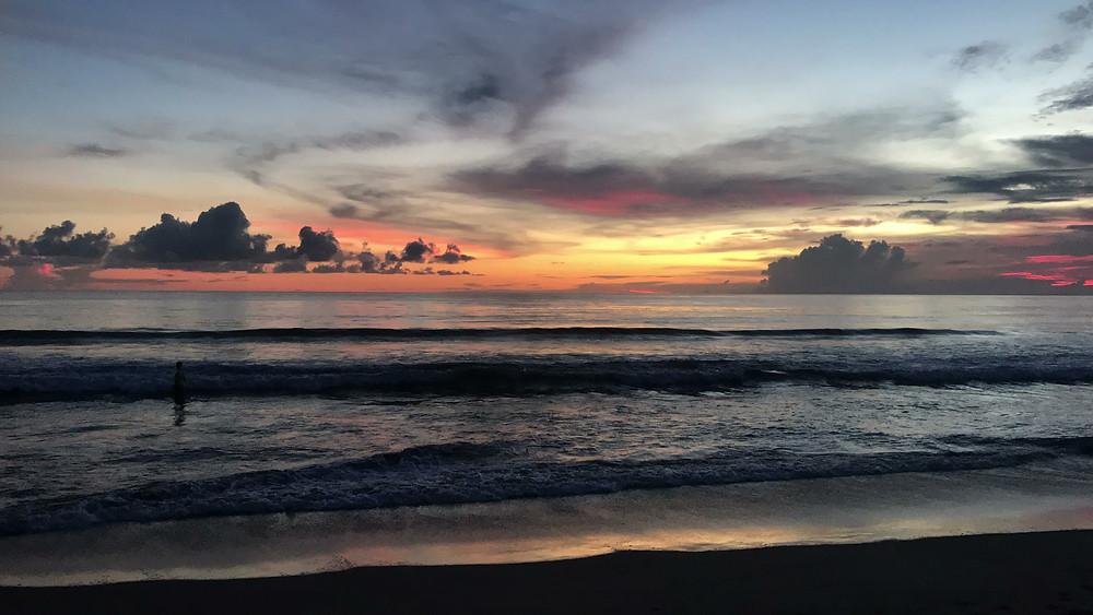 Sunset before Nyepi