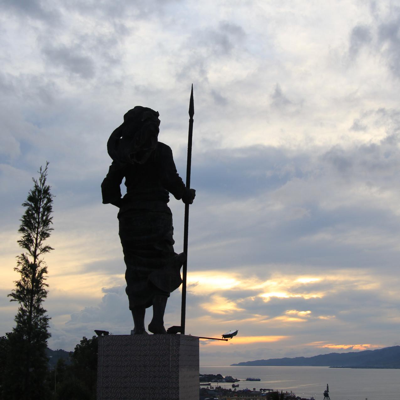 Christina Marta Tiahahu statue