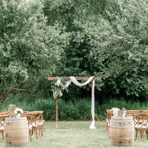 A Wedding in The Vineyard