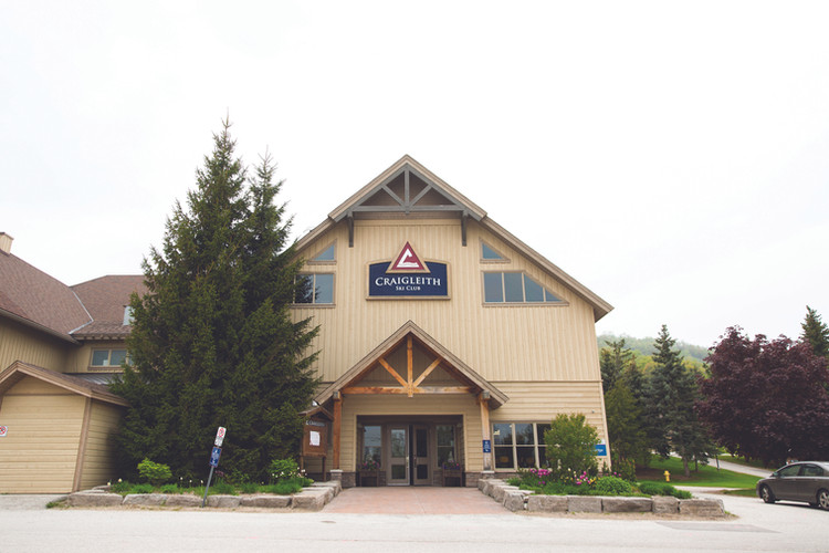 Craigleith Ski Club Wedding