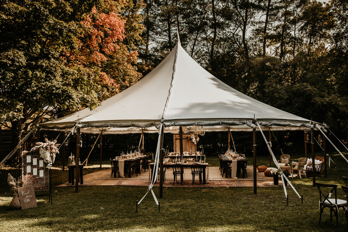 Guelph Tent Rentals - Georgian Bay Weddi