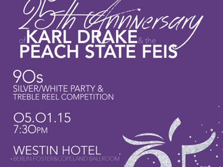 Peach State Feis 25th Anniversary Party