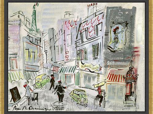 Oversized Parisian Scence